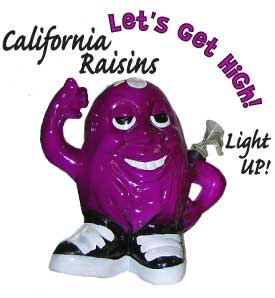 california-raisin-bong